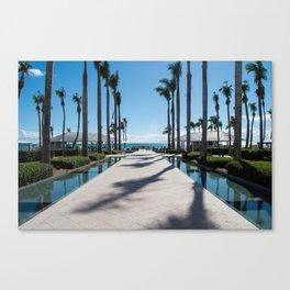 Dreamy Views, Key West, Waldorf Astoria Resort Canvas Print