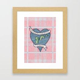 Nessie Valentine Framed Art Print