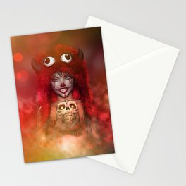 Pretty Little Monster Stationery Cards