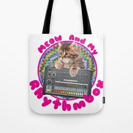 Vintage Meow and my Rhythmbox Tote Bag