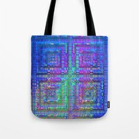 alchemy Tote Bags featuring Color Alchemy by Lyle Hatch