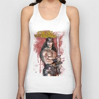 conan Tank Tops featuring Crush your enemies by Lady Rat