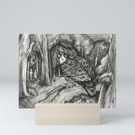 In the wilderness Mini Art Print