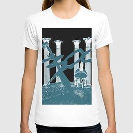 300 Blue and Black T-shirt