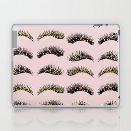Blush pink - glam lash design Laptop & iPad Skin