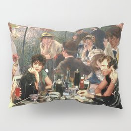 Renoir's Luncheon of the Boating Party & Grease Pillow Sham