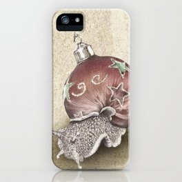 In which a snail is most festive this christmas  iPhone Case