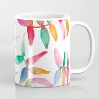 sweater Mugs featuring Sweater Weather by The East Auklet
