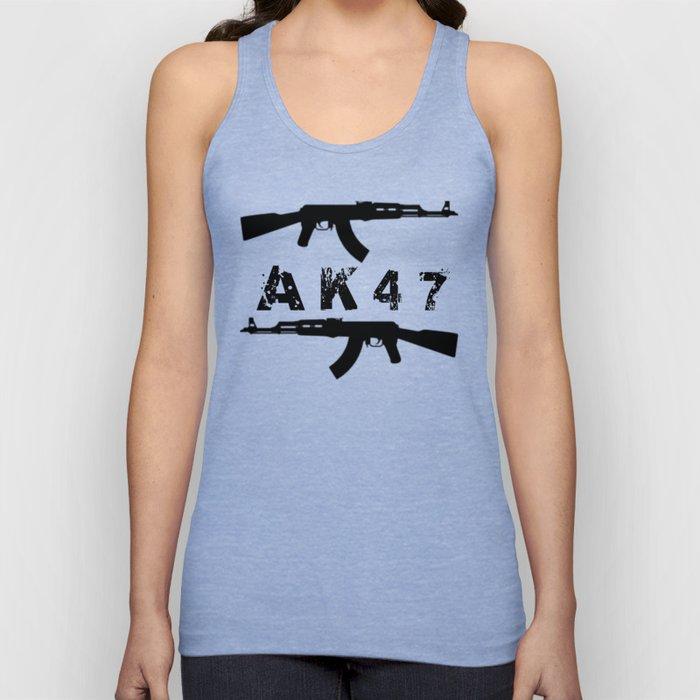 AK47 Rifles Unisex Tank Top