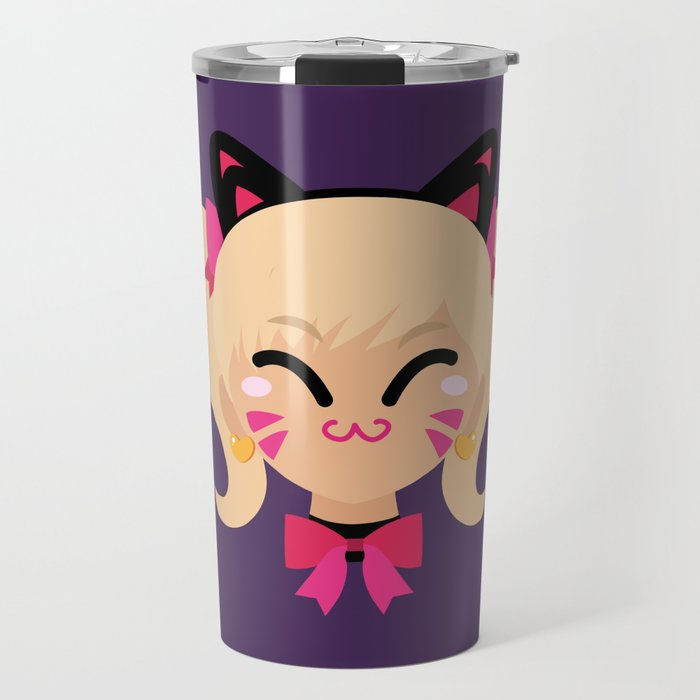 D.Va Cat Skin Travel Mug