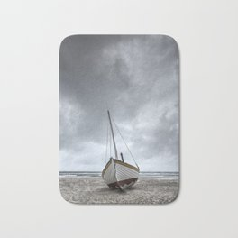 Classic fishing boat Bath Mat