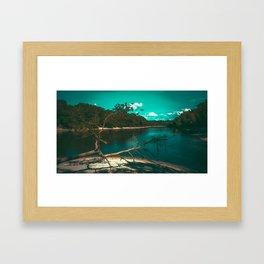 Dive in Framed Art Print