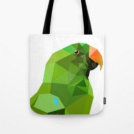 Eclectus parrot Geometric bird art Tote Bag