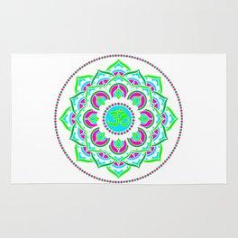 Spring Mandala | Flower Mandhala Rug