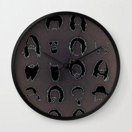 The Rock Beards Wall Clock