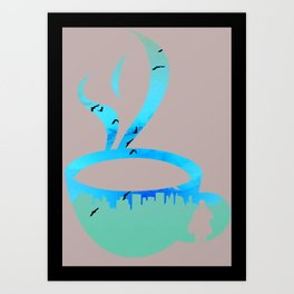 Coffee For Closers Art Print