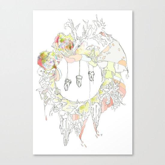 sugar tooth Canvas Print