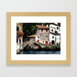 Ponte della Civera Framed Art Print