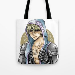 Genos the cyborg Tote Bag