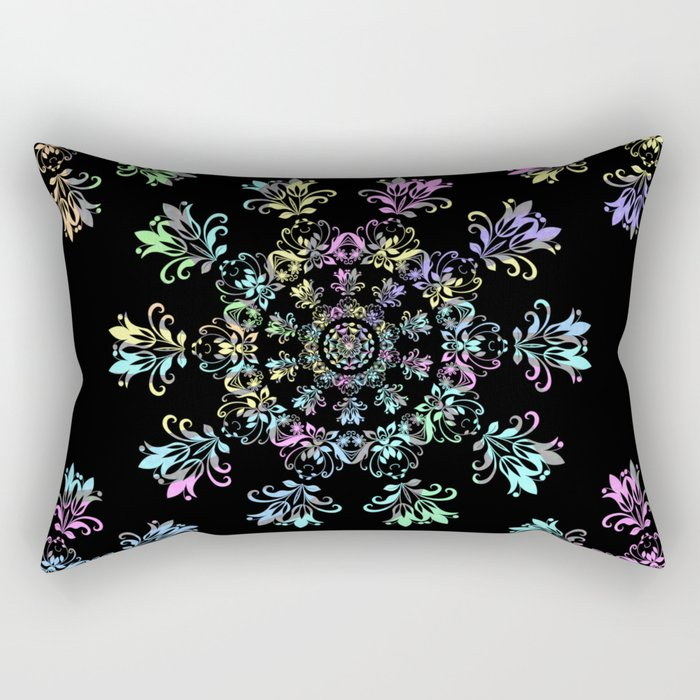 Flora Bohemia Rectangular Pillow