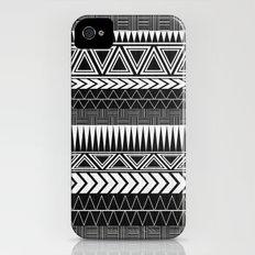 Tribal Monochrome. Slim Case iPhone (4, 4s)