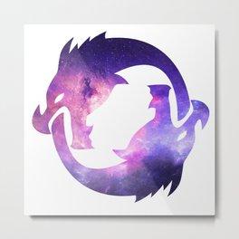 Hanzo Ultimate Logo - Galaxy Metal Print