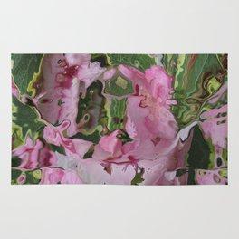 Liquid Flowers Rug