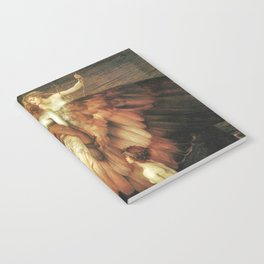 Mourning for Icarus - Draper Herbert James Notebook