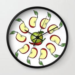 ilaria e salvatore Wall Clock