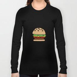 Burger Off Long Sleeve T-shirt