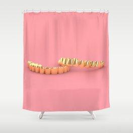 Grillz Shower Curtain