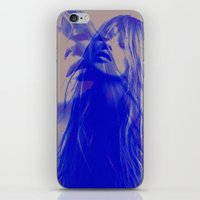 kate moss iPhone & iPod Skins featuring double Kate blues (kate moss) by Kiki collagist