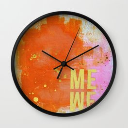 me are we Wall Clock