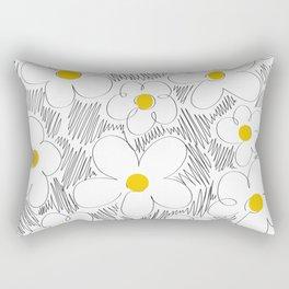 Wild daisy Rectangular Pillow