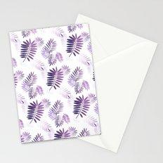 Purple Tropics Stationery Cards