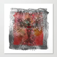 anatomy Canvas Prints featuring anatomy by kumpast