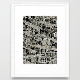 Texture Mix Framed Art Print