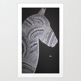 Profil Art Print