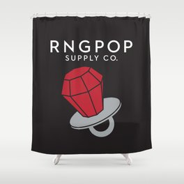 RNGPOP Shower Curtain