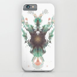 Rorschach inkblot XXV iPhone Case