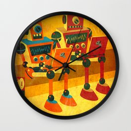 Internet Junkies Wall Clock