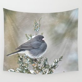 Tip Top Junco Wall Tapestry