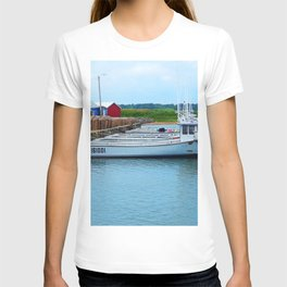 Lobster Boats and Traps T-shirt