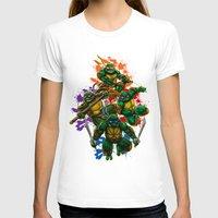 teenage mutant ninja turtles T-shirts featuring Teenage Mutant Ninja Turtles by Magik Tees