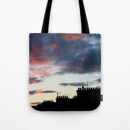 Tenement Sunset  Tote Bag