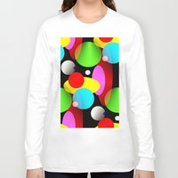 balloons Long Sleeve T-shirts featuring Balloons by Artisimo