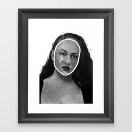 Maria Reynolds / And Peggy Schuyler Framed Art Print