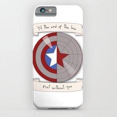 Steve Rogers and Bucky Barnes Shield Slim Case iPhone 6