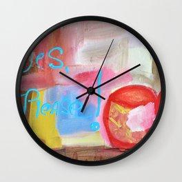 For Coffee Geek - Fun Poster Wall Clock