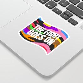 Pride Camo Sticker